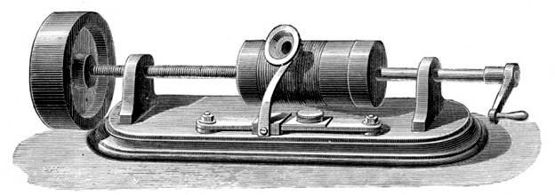 Первый фонограф