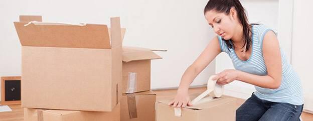 Быстрая и недорогая упаковка вещей при переезде