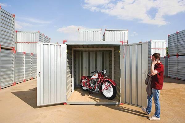 Сезонное хранение мотоциклов, скутеров, мопедов на складе в Москве